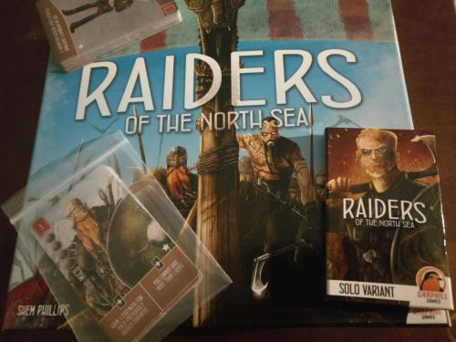 Spielpackung Raiders of the North Sea